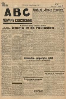 ABC : nowiny codzienne. 1936, nr37