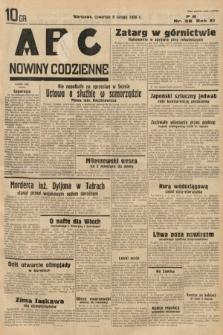 ABC : nowiny codzienne. 1936, nr38