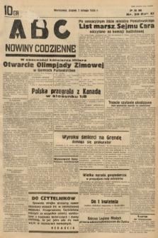 ABC : nowiny codzienne. 1936, nr39