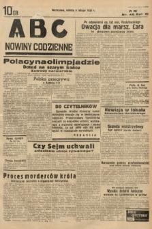 ABC : nowiny codzienne. 1936, nr40