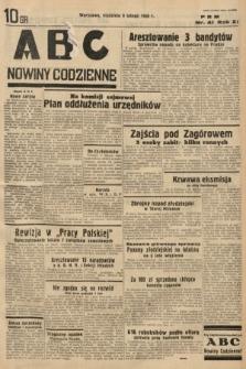 ABC : nowiny codzienne. 1936, nr41