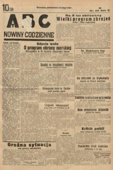 ABC : nowiny codzienne. 1936, nr42