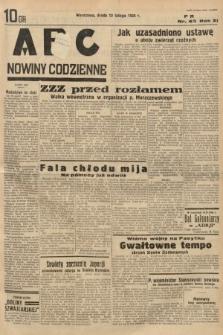 ABC : nowiny codzienne. 1936, nr44