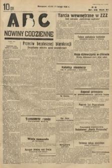 ABC : nowiny codzienne. 1936, nr46
