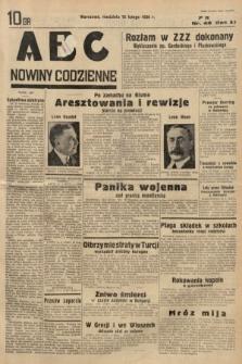 ABC : nowiny codzienne. 1936, nr48
