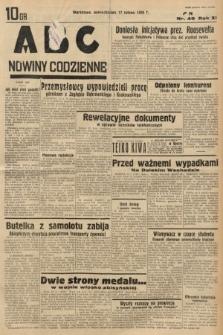 ABC : nowiny codzienne. 1936, nr49