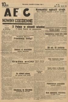 ABC : nowiny codzienne. 1936, nr52