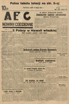 ABC : nowiny codzienne. 1936, nr53