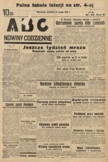 ABC : nowiny codzienne. 1936, nr55