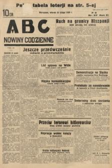 ABC : nowiny codzienne. 1936, nr57