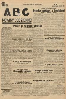 ABC : nowiny codzienne. 1936, nr58