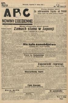 ABC : nowiny codzienne. 1936, nr59