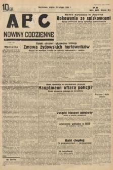 ABC : nowiny codzienne. 1936, nr60