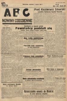 ABC : nowiny codzienne. 1936, nr62