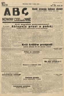 ABC : nowiny codzienne. 1936, nr65