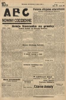 ABC : nowiny codzienne. 1936, nr71