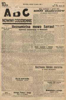ABC : nowiny codzienne. 1936, nr72