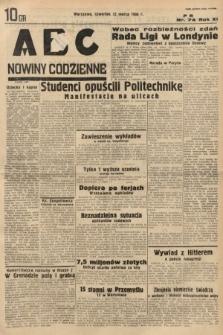 ABC : nowiny codzienne. 1936, nr74