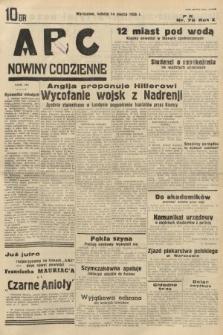 ABC : nowiny codzienne. 1936, nr76