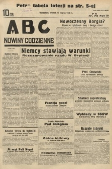 ABC : nowiny codzienne. 1936, nr79