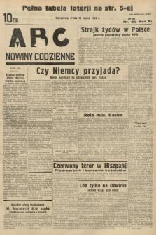 ABC : nowiny codzienne. 1936, nr80