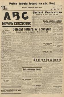 ABC : nowiny codzienne. 1936, nr81