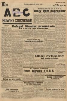 ABC : nowiny codzienne. 1936, nr82
