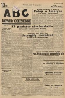 ABC : nowiny codzienne. 1936, nr84