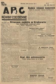 ABC : nowiny codzienne. 1936, nr89