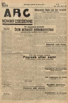 ABC : nowiny codzienne. 1936, nr90
