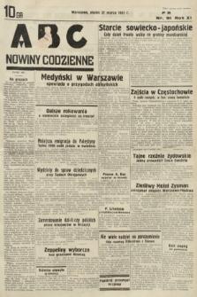 ABC : nowiny codzienne. 1936, nr91