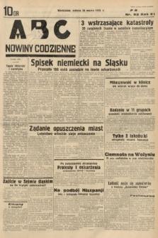 ABC : nowiny codzienne. 1936, nr92