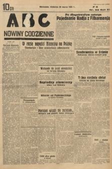 ABC : nowiny codzienne. 1936, nr93