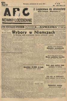 ABC : nowiny codzienne. 1936, nr94