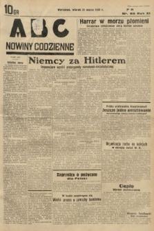 ABC : nowiny codzienne. 1936, nr95
