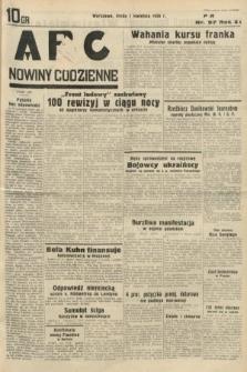 ABC : nowiny codzienne. 1936, nr97