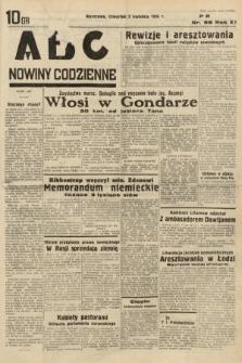 ABC : nowiny codzienne. 1936, nr98