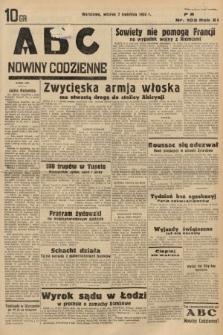 ABC : nowiny codzienne. 1936, nr103