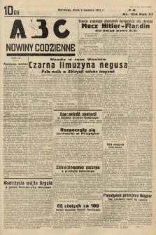 ABC : nowiny codzienne. 1936, nr104