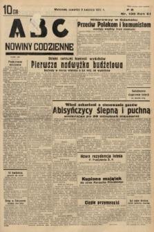 ABC : nowiny codzienne. 1936, nr105