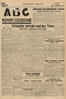 ABC : nowiny codzienne. 1936, nr108