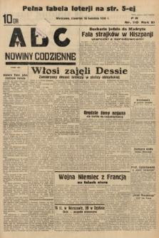ABC : nowiny codzienne. 1936, nr110