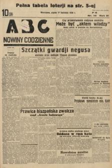 ABC : nowiny codzienne. 1936, nr111