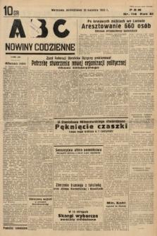 ABC : nowiny codzienne. 1936, nr114