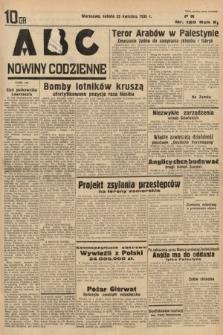 ABC : nowiny codzienne. 1936, nr120