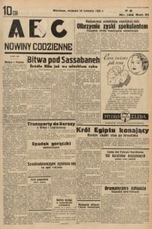 ABC : nowiny codzienne. 1936, nr122