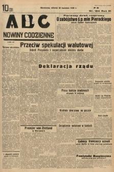 ABC : nowiny codzienne. 1936, nr124
