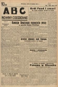 ABC : nowiny codzienne. 1936, nr125