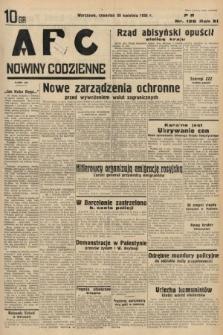 ABC : nowiny codzienne. 1936, nr126