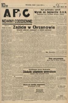 ABC : nowiny codzienne. 1936, nr127